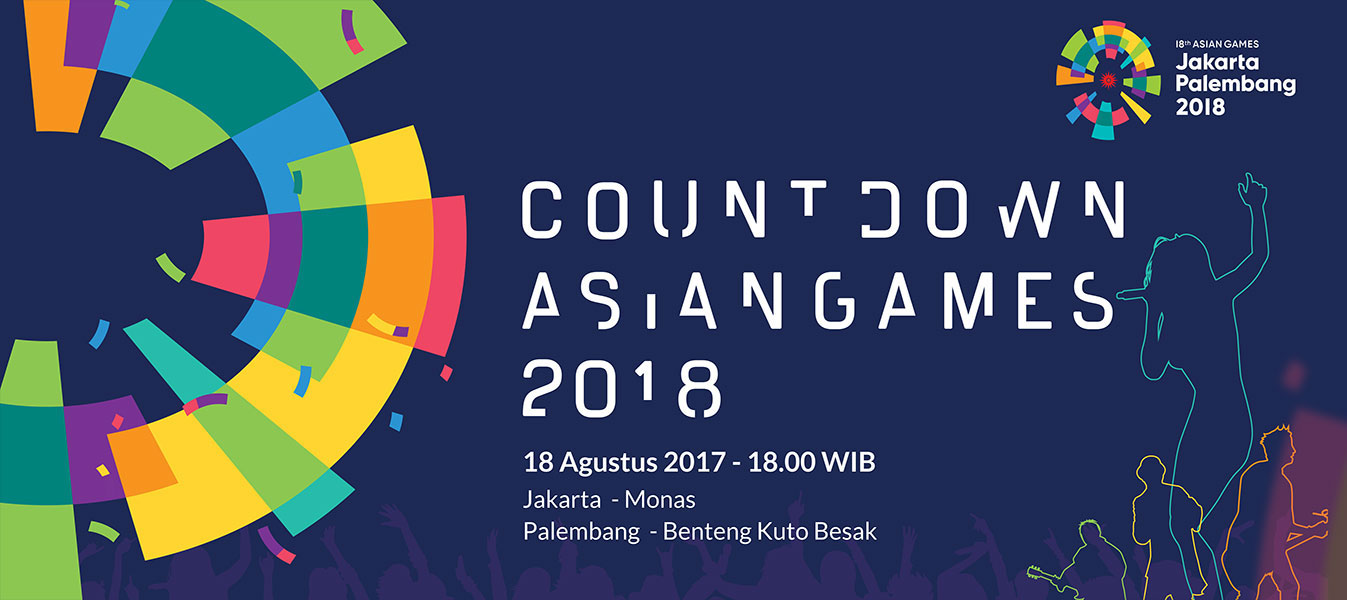 indonesian president to launch one year countdown to 2018 asian games - Asian Games Font