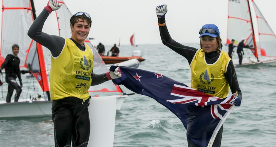 New Zealand Takes Top Places at 29er World Championships 2018
