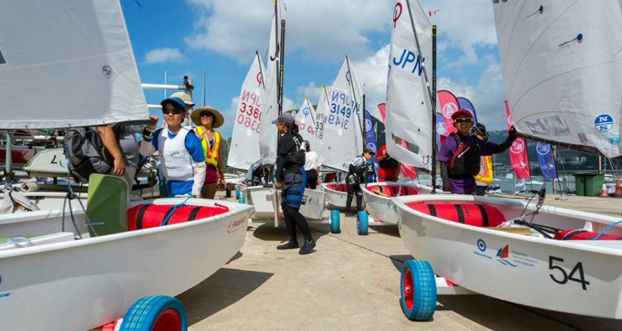 2017 Optimist Asian & Oceanian Championships : Day Two