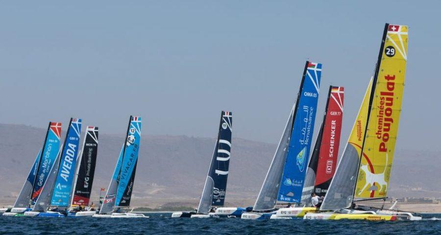 EFG Sailing Arabia – The Tour Showcases Oman's Beauty as Beijaflore Win First Coastal Raid