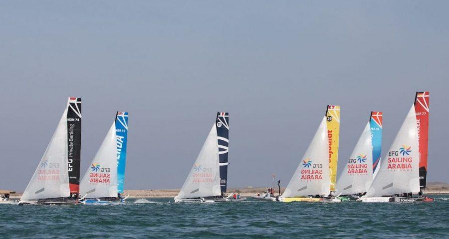Vivacar Dominate Masirah Stadium Racing as EFG Sailing Arabia – The Tour Adventure Continues