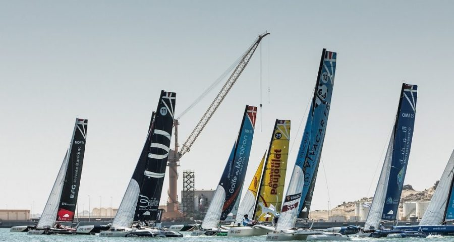 Second Coastal Raid Provides More Action in EFG Sailing Arabia – The Tour