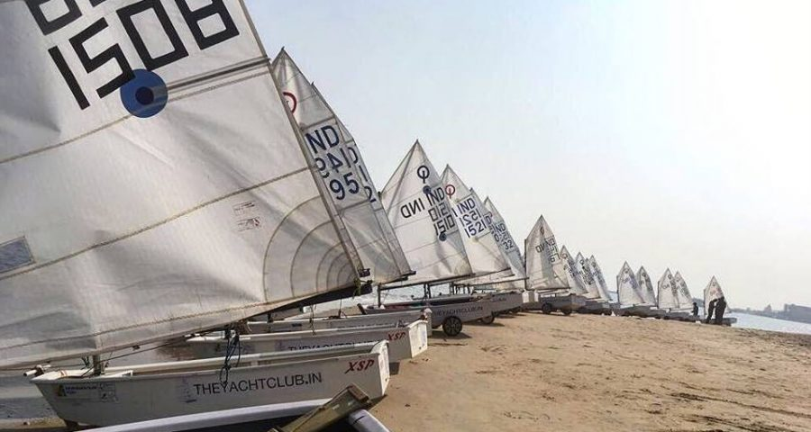 First ASAF Youth Sailing Cup 2017-18 Series : Racing Starts