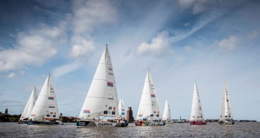Biggest Clipper Race Sets Sail from Liverpool