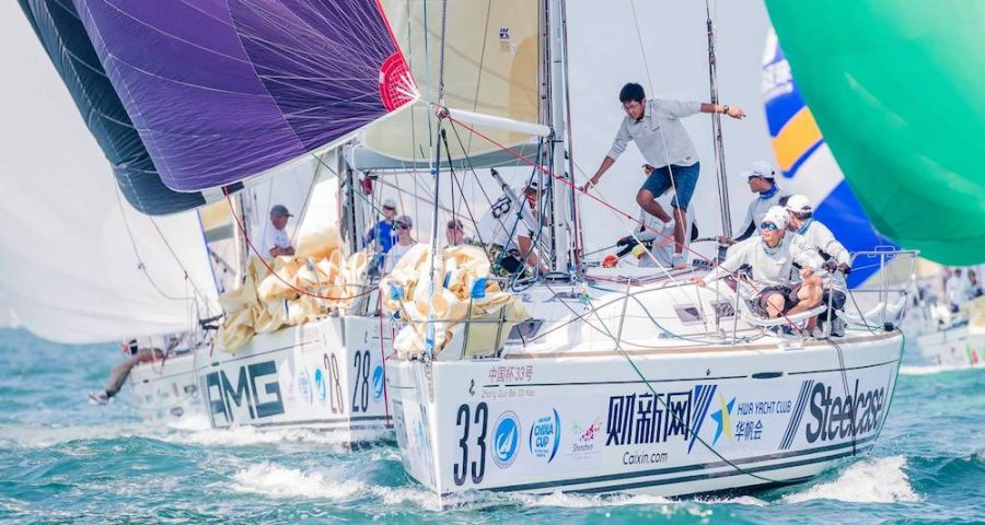 ASAF Keelboat Cup and China Cup Regatta 2017: South Africa's My Side Wins Slow Race to Shenzhen