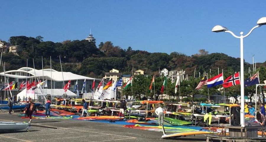 Sailors Battle at the First Day of ASAF Sailing Cup and Enoshima Olympic Week 2017