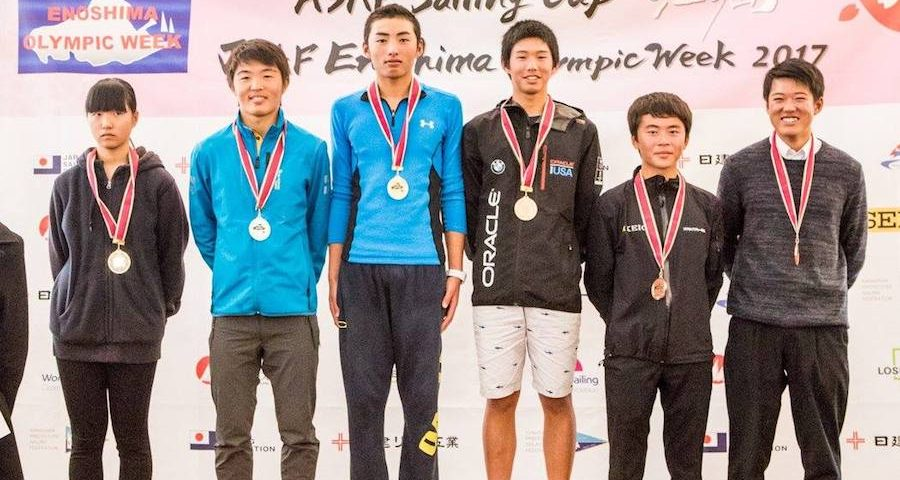 Medals Decided at the ASAF Sailing Cup and Enoshima Olympic Week 2017