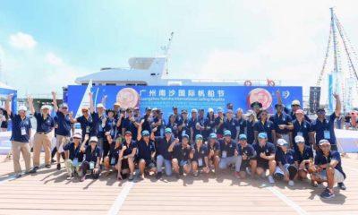 The Guangzhou Nansha International Sailing Regatta 2017 Declared Open