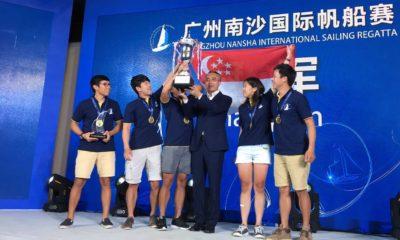 Team Singapore Crowned Winners of the Inaugural Guangzhou Nansha International Sailing Regatta 2017