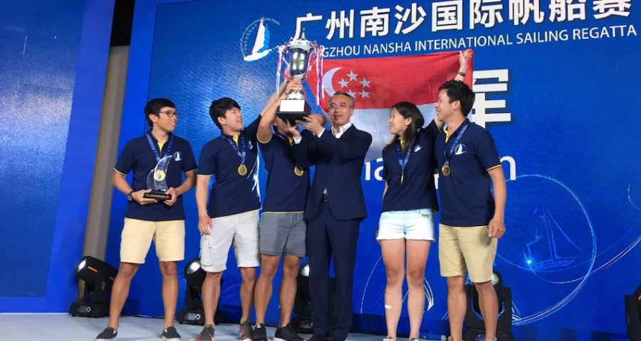 Team Singapore Crowned Winners of the Inaugural Guangzhou Nansha International Sailing Regatta 2017