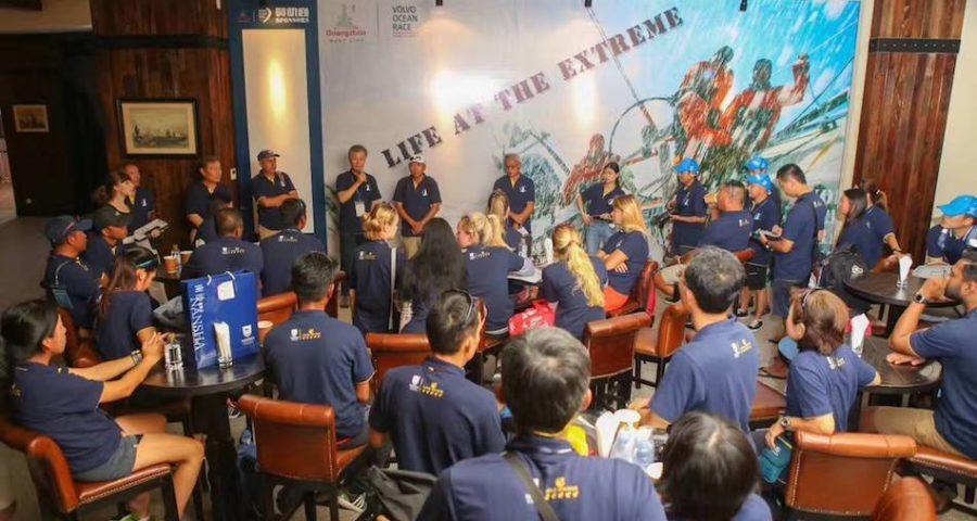 Day One Racing At The Guangzhou Nansha International Sailing Regatta 2017