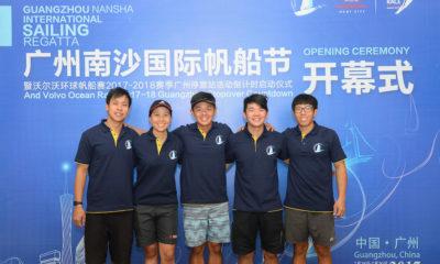 Day Two Racing At The Guangzhou Nansha International Sailing Regatta 2017
