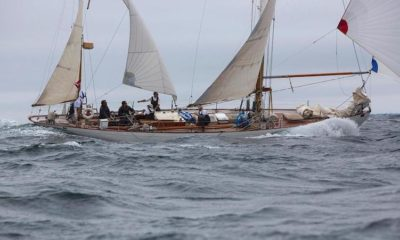 2018 Rolex China Sea Race – Famous Classic Yacht Dorade Takes on Asia