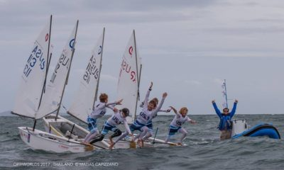 2017 Optimist World Championship: USA Wins IODA Challenge Cup Team Racing Trophy