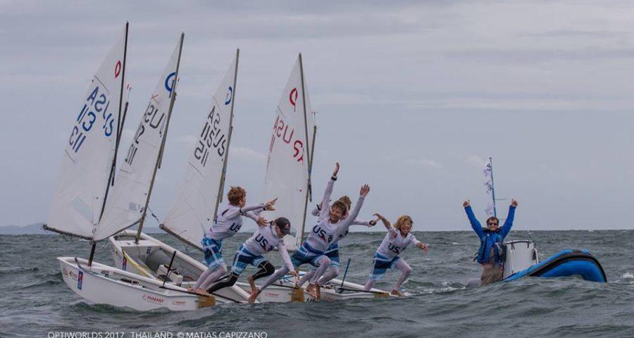 2017 Optimist World Championship: USA Wins IODA Challenge Cup Team Racing Trophy