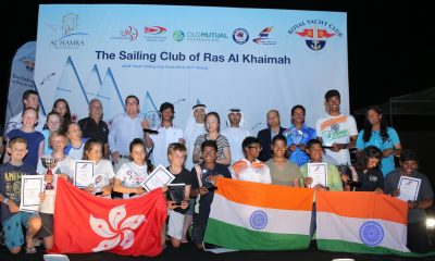 ASAF Youth Sailing Cup 2016 – 17 Series – Hong Kong Wins Nations Trophy for A Third Time in Row