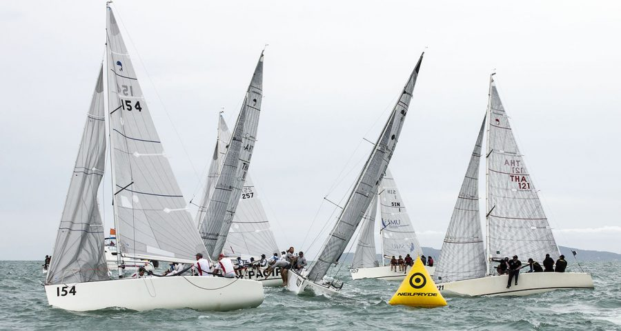 2017 Top of the Gulf Regatta: Australian and Thai Sailors Take Early Leads On Day 1