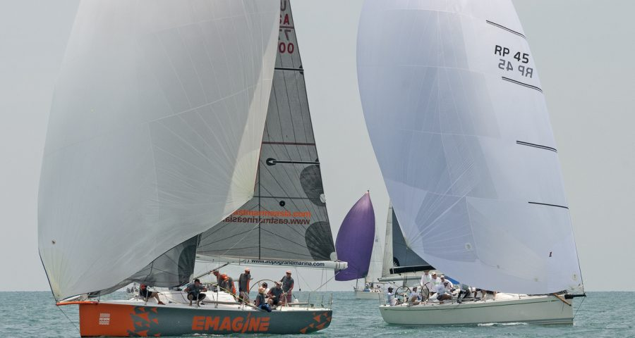 Gulf of Thailand Delivers The Goods on Day 2 of 2017 Top of the Gulf Regatta