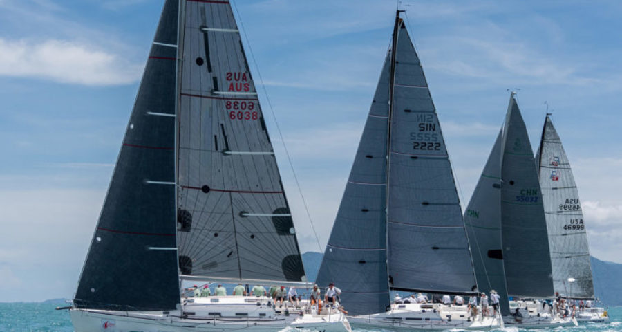 Consolidation At The Top on Day Three of The 2017 Samui Regatta