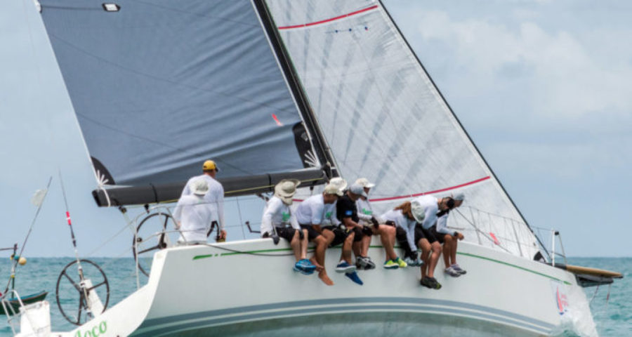 Challenging winds test tacticians' savvy on Day 4 of 2017 Samui Regatta