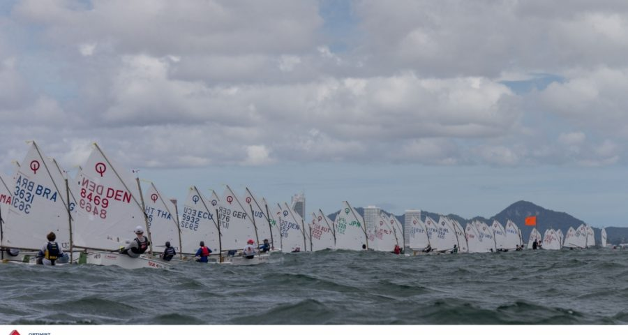 Wind Delivers on Day Two of 2017 Optimist World Championships