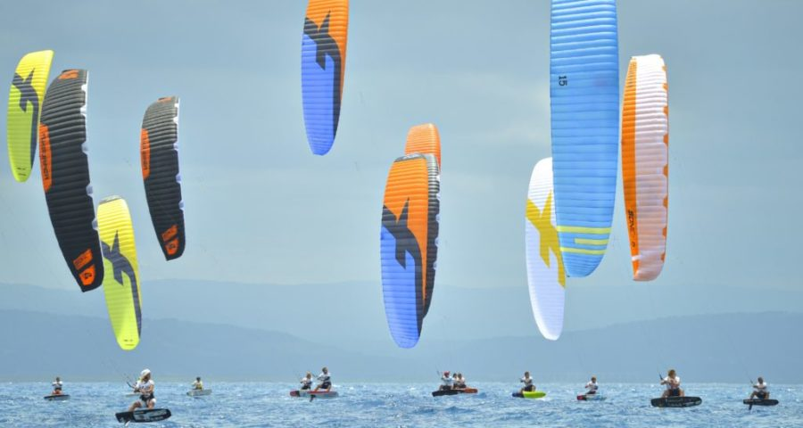 World's Fastest Kitefoilers Poised For Action At Daecheon Beach, Boryeong, South Korea